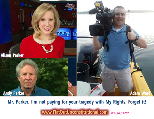 Open Letter to Andy Parker, father of Alison Parker.