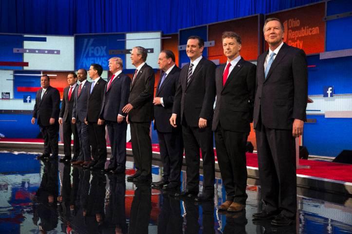 GOP 2016 candidates