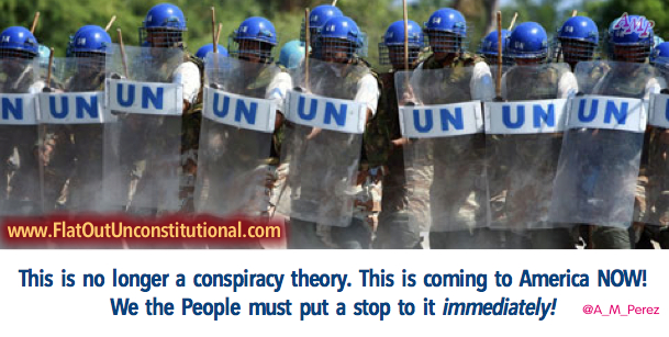 Alert! U.N. Military Invading America with Obama's Blessing!